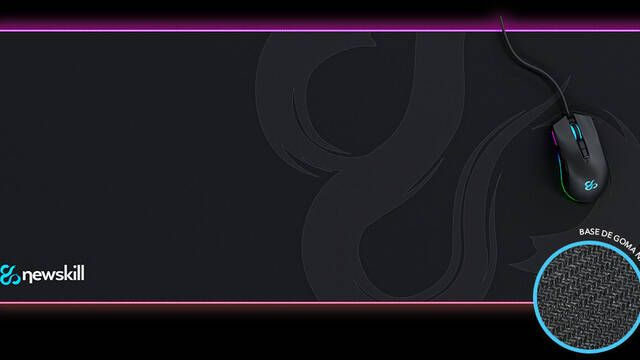 Nemesis, la nueva alfombrilla RGB del fabricante Newskill