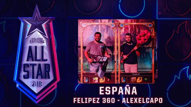 El All-Star de League of Legends contará con Alexelcapo y Felipez360