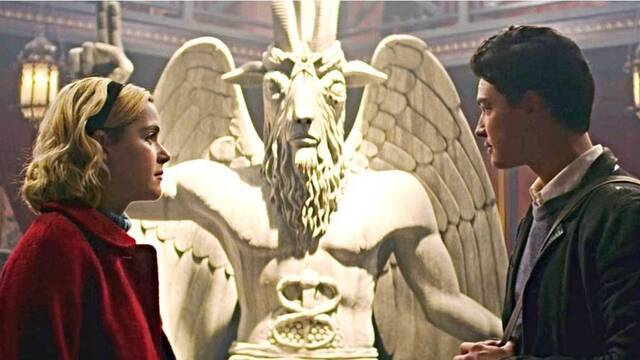 Satánicos denuncian a 'Sabrina' de Netflix por el uso de cierta simbología