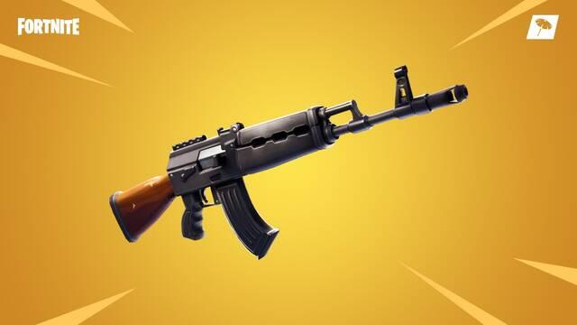 El AK47 llega a Fortnite con la actualización 6.22