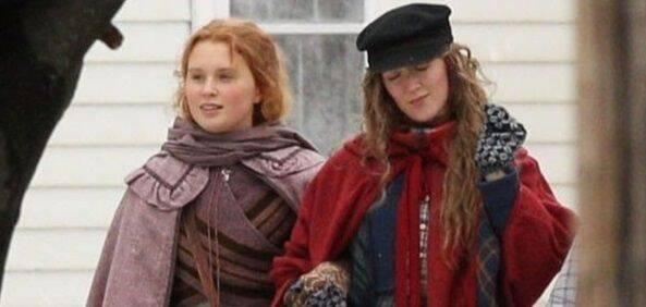 Llega la primera foto de Saoirse Ronan y Eliza Scanlen en 'Mujercitas'