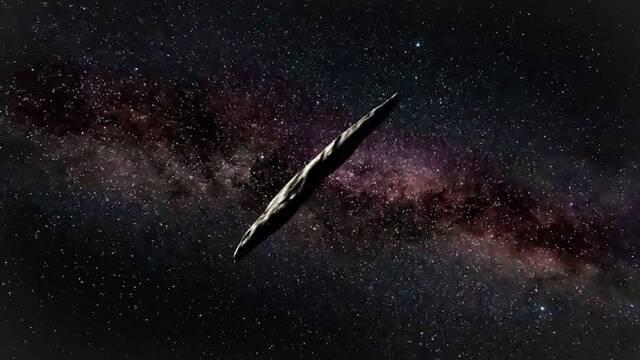 El asteroide Oumuamua podría probar la vida alienígena, según Harvard