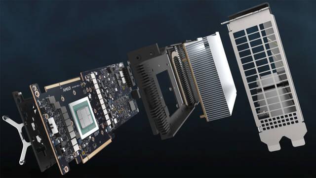 Las nuevas AMD Instinct MI60 y MI50 no tiene conexión para pantalla y sólo soportan Linux