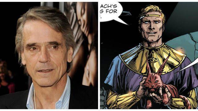 Confirmado: Jeremy Irons será Ozymandias en la serie de 'Watchmen' de HBO