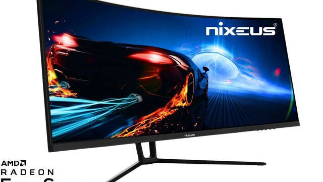Nixeus presenta su monitor curvo para gamers EDG 34 con 1440p, 144 Hz y 4 ms