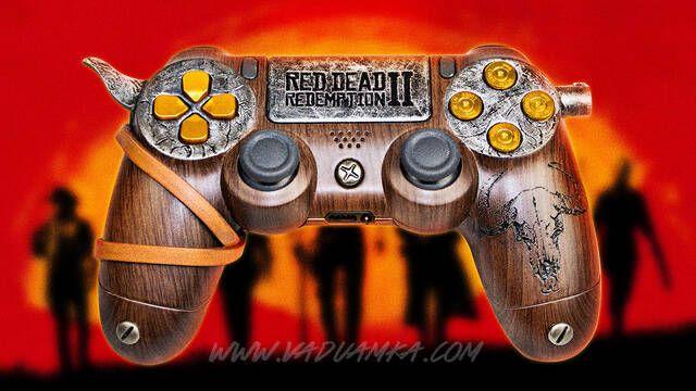 Red Dead Redemption 2 también tiene su propio DualShock 4 personalizado