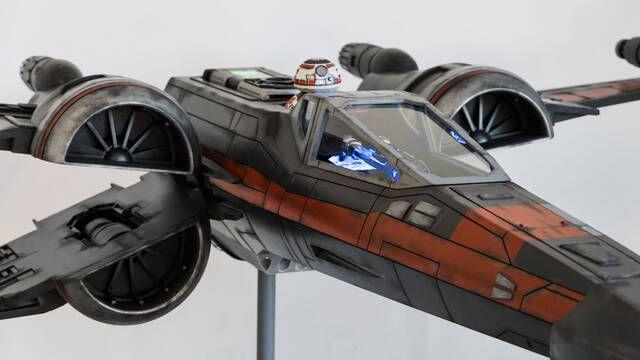 El PC Modding de los viernes: el ordenador X-Wing de Star Wars