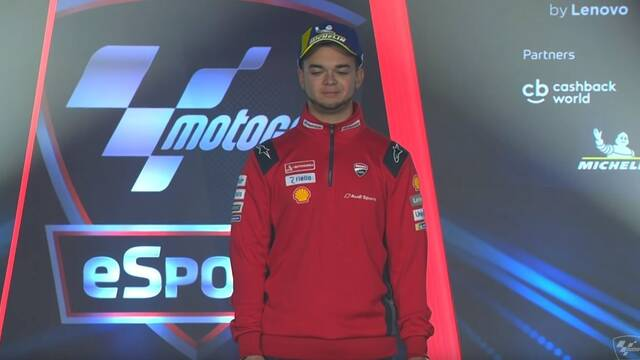 iAndrewZh se alza con el MotoGP eSport World Championship