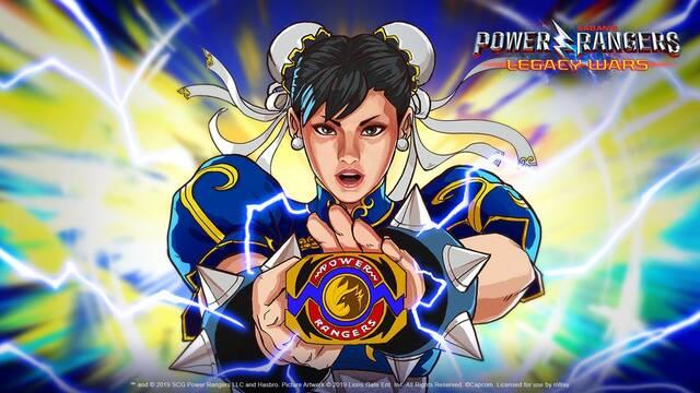 Chun-Li de Street Fighter se 'convierte' en una Power Ranger