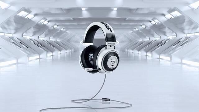 Razer estrena unos auriculares de Star Wars leales al Imperio: Kraken Stormtrooper Edition