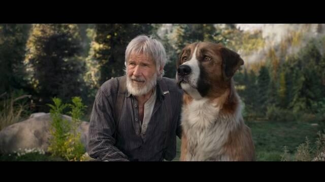 Harrison Ford y un perro CGI protagonizan La llamada de lo salvaje