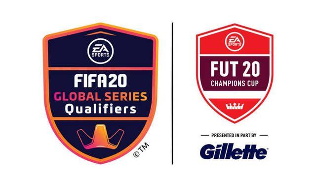FIFA 20 Global Series firma a Gillette como nueva patrocinadora