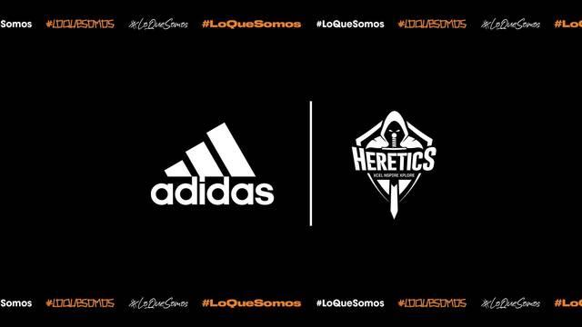 Team Heretics presentará su equipación Adidas para la Temporada 2020 el próximo viernes