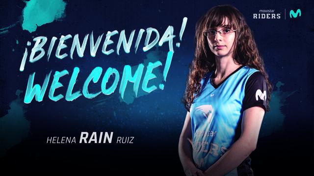 Helena 'Rain' es la nueva toplaner de Movistar Riders Blue, el equipo femenino de LOL