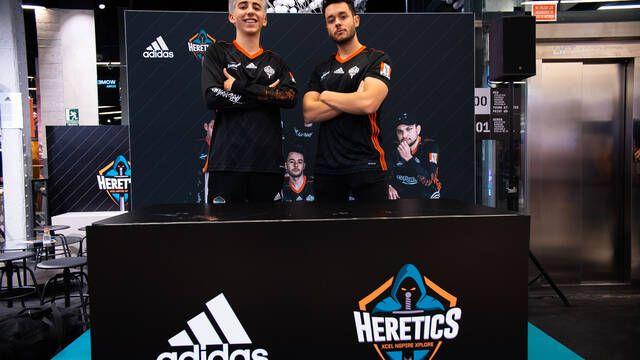 Team Heretics presenta sus nuevas camisetas Adidas para la Temporada 2020