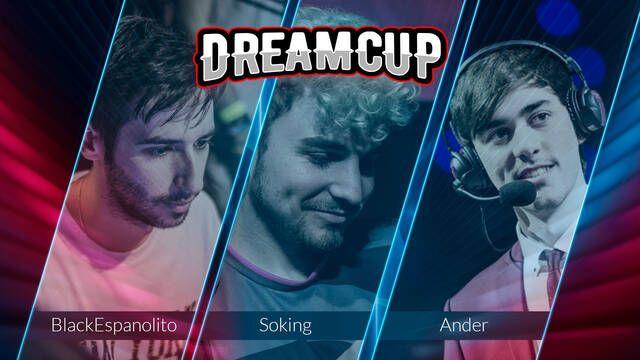 BlackEspanolito, Soking y Ander, nuevos embajadores de Dreamcup