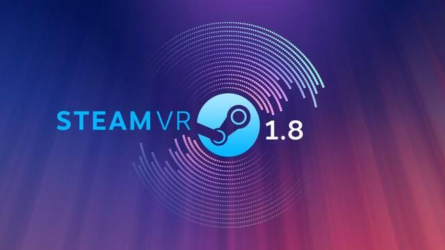 Valve presenta SteamVR 1.8 con mejoras en la administración del audio y la energía