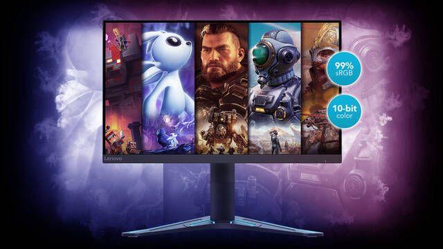 Lenovo G27Q-20 y G20-20, nuevos monitores para jugar con hasta QHD y 165 Hz