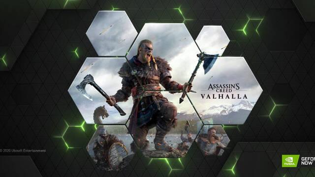 GeForce Now se actualiza con Assassin's Creed Valhalla y otros cuatro juegos