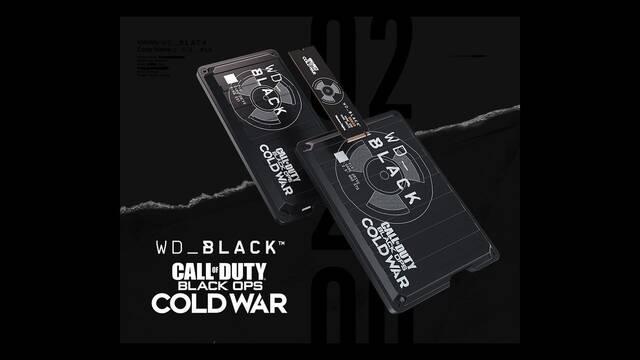 Western Digital presenta unos SSD edición especial de Call of Duty: Black Ops Cold War