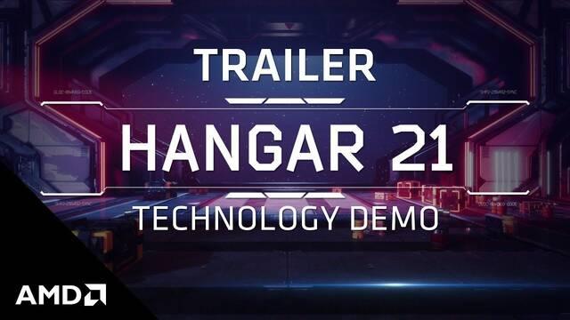 AMD lanza el tráiler de la demo técnica de la arquitectura RDNA 2: Hangar 21