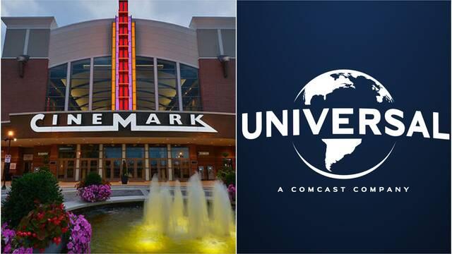 Universal llega a un acuerdo con Cinemark para sus películas VOD