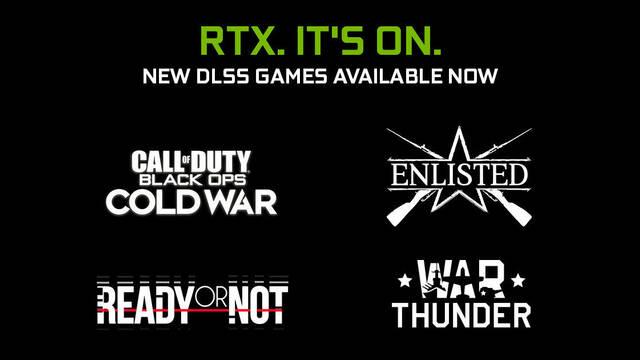 NVIDIA DLSS llega a cuatro nuevos juegos