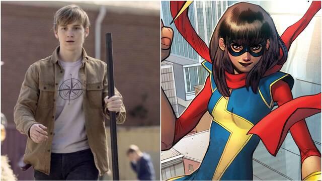 Llegan las primeras imágenes de Ms. Marvel: Con Matt Lintz en un papel clave