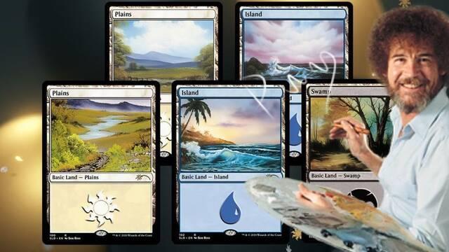 Magic: The Gathering lanzará unas cartas especiales con pinturas de Bob Ross