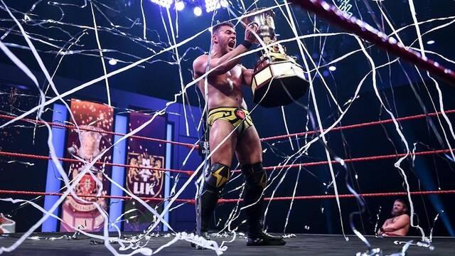 A-Kid se convierte en el primer luchador español en ganar un torneo en WWE