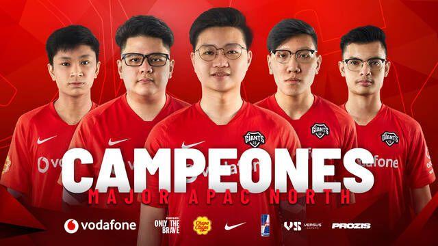 Vodafone Giants triunfa en Rainbow 6 conquistando el Major de APAC