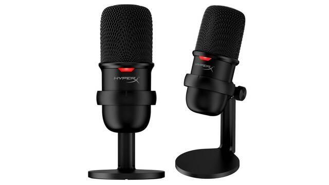 HyperX presenta el SoloCast, un micrófono USB de tamaño reducido para streamers