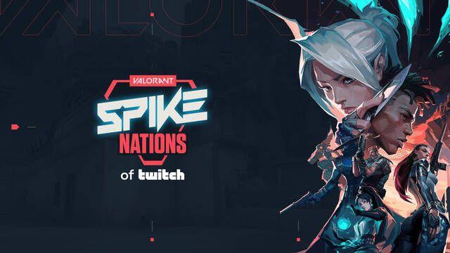 Valorant Spike Nations de Twitch, el nuevo torneo benéfico con 100.000 dólares para ONG