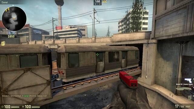 Un nuevo fallo de CS:GO permite a los jugadores parar... ¡el tren de Overpass!