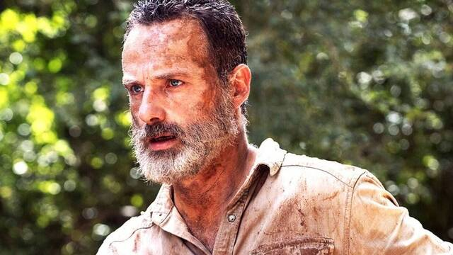 The Walking Dead: Andrew Lincoln reaparece con una enorme barba en una foto