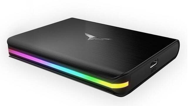 TeamGroup Treasure Touch, un nuevo SSD externo con iluminación RGB