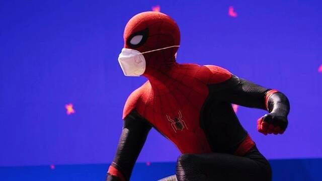 Spider-Man 3: Primera imagen de Tom Holland en el set de rodaje
