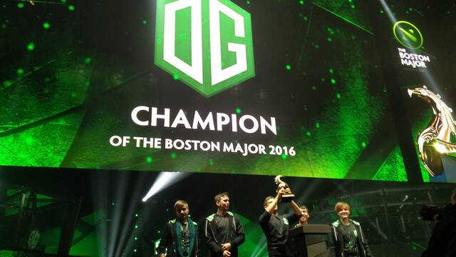 OG se hace con el The Boston Major de DOTA 2