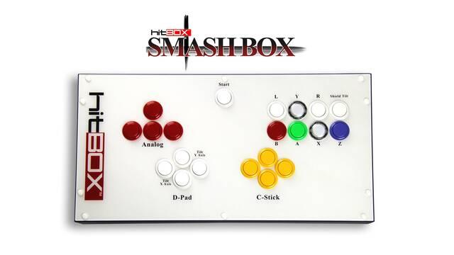 Así es el arcade stick más extraño para Super Smash Bros. Melee