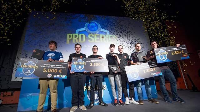 Estos son los ganadores de las Pro Series Liga Oficial PlayStation