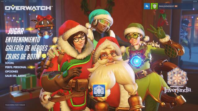 Ya disponible Invernalia, el evento navideño de Overwatch