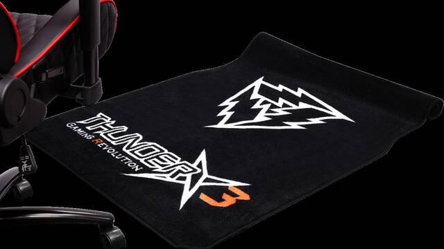 ThunderX3 se atreve con el lanzamiento de su propia alfombra para tu zona gamer