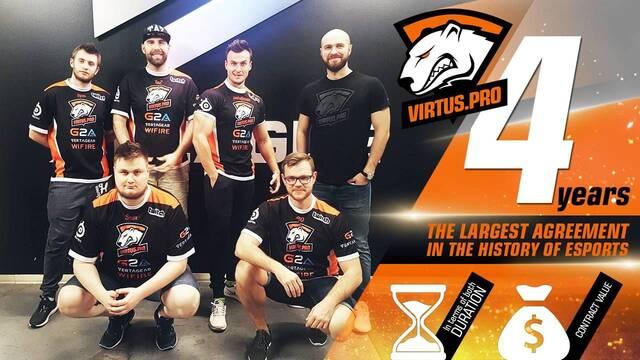 Virtus.pro renueva a todo su equipo de CS:GO hasta el 2020