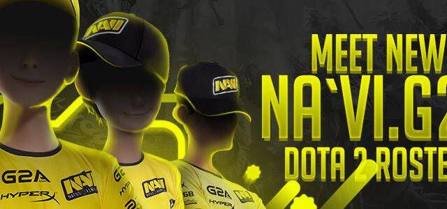 Natus Vincere presenta a su nueva plantilla de DOTA 2