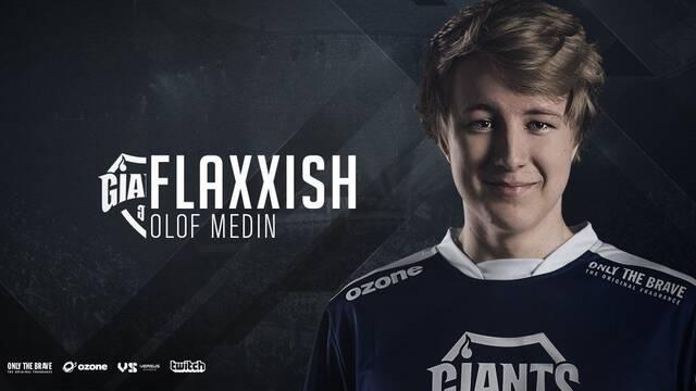 Giants hace oficial el fichaje de Flaxxish