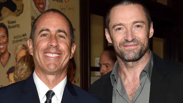 Fue Jerry Seinfeld quien convenció a Hugh Jackman para colgar el traje de Lobezno