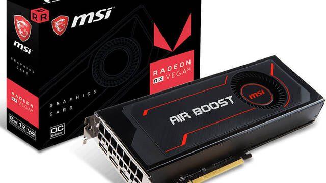 MSI presenta su gráfica Radeon RX Vega 64 Air Boost