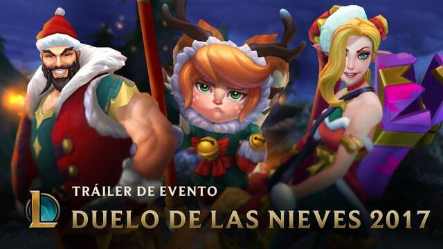 League of Legends presenta su evento de Navidad: Duelo de las nieves 2017