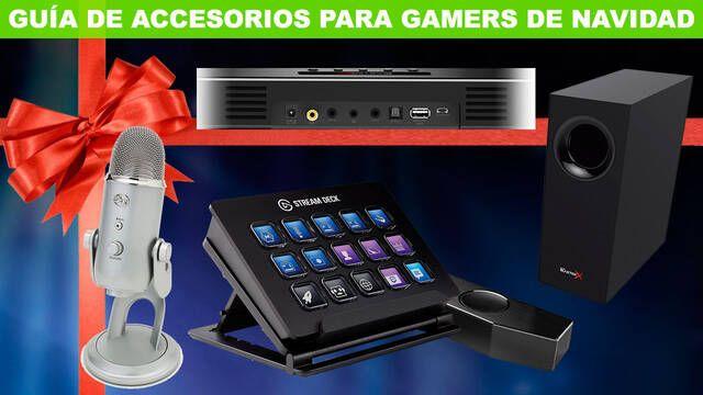 Guía: Los mejores accesorios gamers para comprar en Navidad