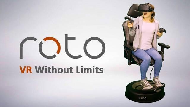 Roto VR, una silla creada para disfrutar como nunca de la realidad virtual